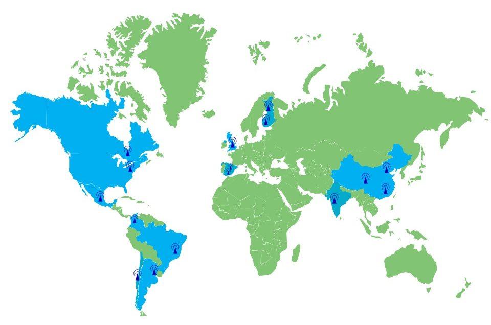 Global Field Testing Hubs - TESTiLABS